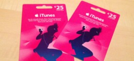 iTunes Geschenkkarten 15% reduziert